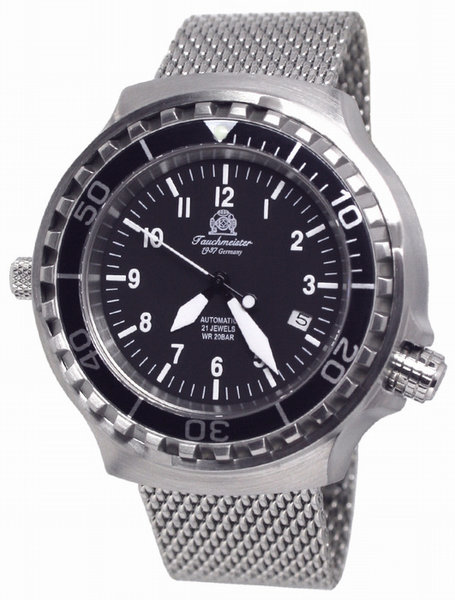 Tauchmeister Tauchmeister T0251MIL DEMO automatic divers watch 20ATM