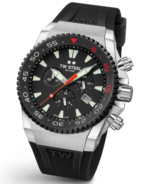 TW Steel TW Steel ACE401 Diver Swiss Chronograph Limited Edition Uhr 44mm