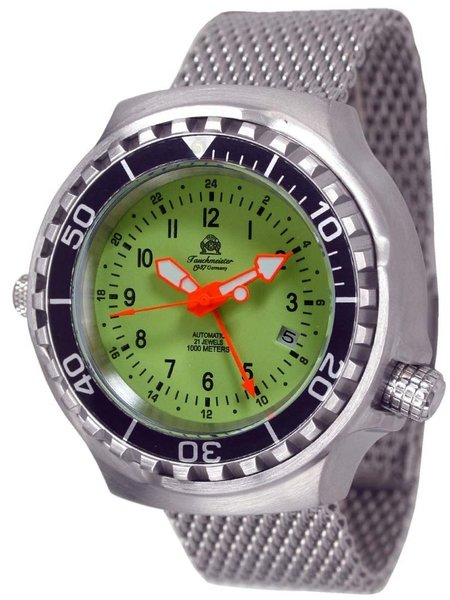 Tauchmeister Tauchmeister T0316MIL automatic diver watch 46 mm