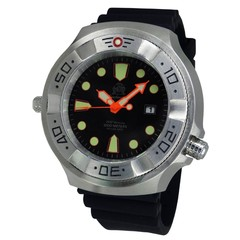 Tauchmeister T0318 quartz diver watch 52 mm