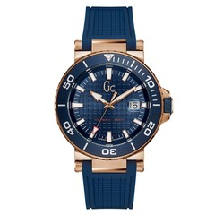 Gc Guess Collection Y36004G7MF Diver Code mens watch 44 mm