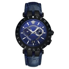 Versace VEBV00419 V-Race mens watch chronograph 46 mm