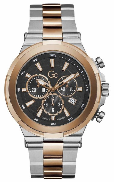Gc Guess Collection Gc Guess Collection Y23003G2MF Gc Structura mens watch 44 mm