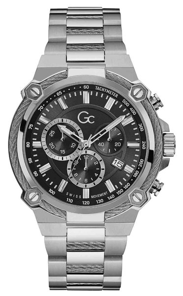 Gc Guess Collection Gc Guess Collection Y24003G2MF Gc Cable Force Herren Uhr 44 mm