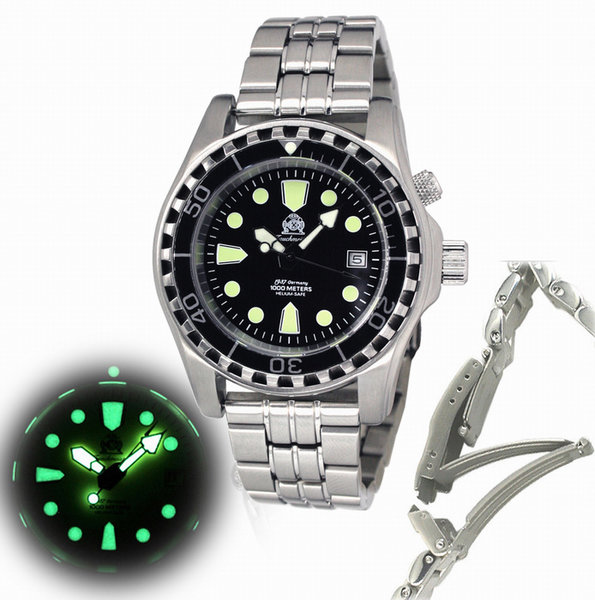 Tauchmeister Tauchmeister T0257M Automatic Combat Diver 1000m watch