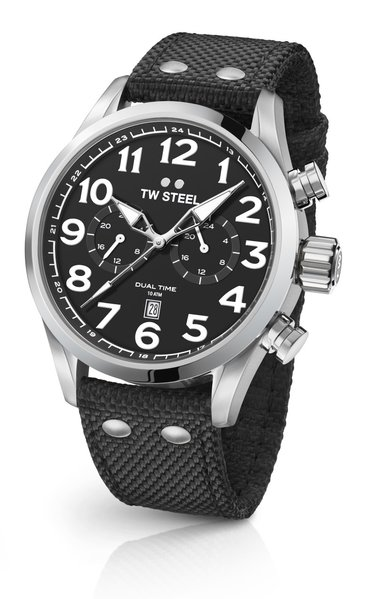 TW Steel TW Steel VS7 Volante dual-time watch 45mm