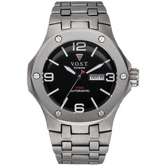 V.O.S.T. Germany V100.017 Titanium automatic mens watch 44mm
