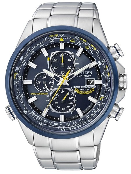 Citizen Citizen AT8020 Promaster Sky US NAVY Blue Angels Uhr 43 mm