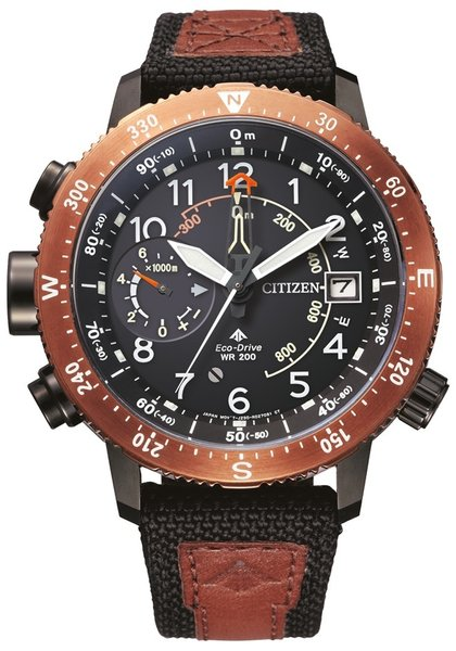Citizen Citizen BN4049-11E Promaster Altichron mens watch 46 mm