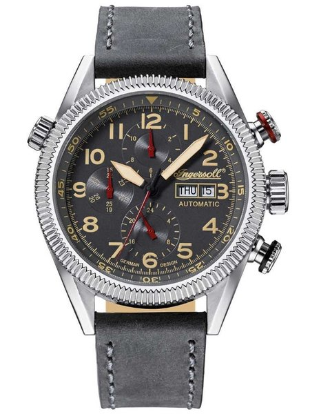 Ingersoll Ingersoll IN1102GU Grizzly Mens automatic watch 46mm DEMO