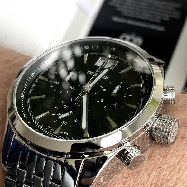 TW Steel TW Steel ACE311 Aternus Swiss Made Chronograph Uhr 45mm