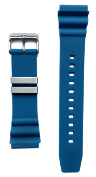 Tauchmeister Tauchmeister rubber strap blue 22mm S22-BLU