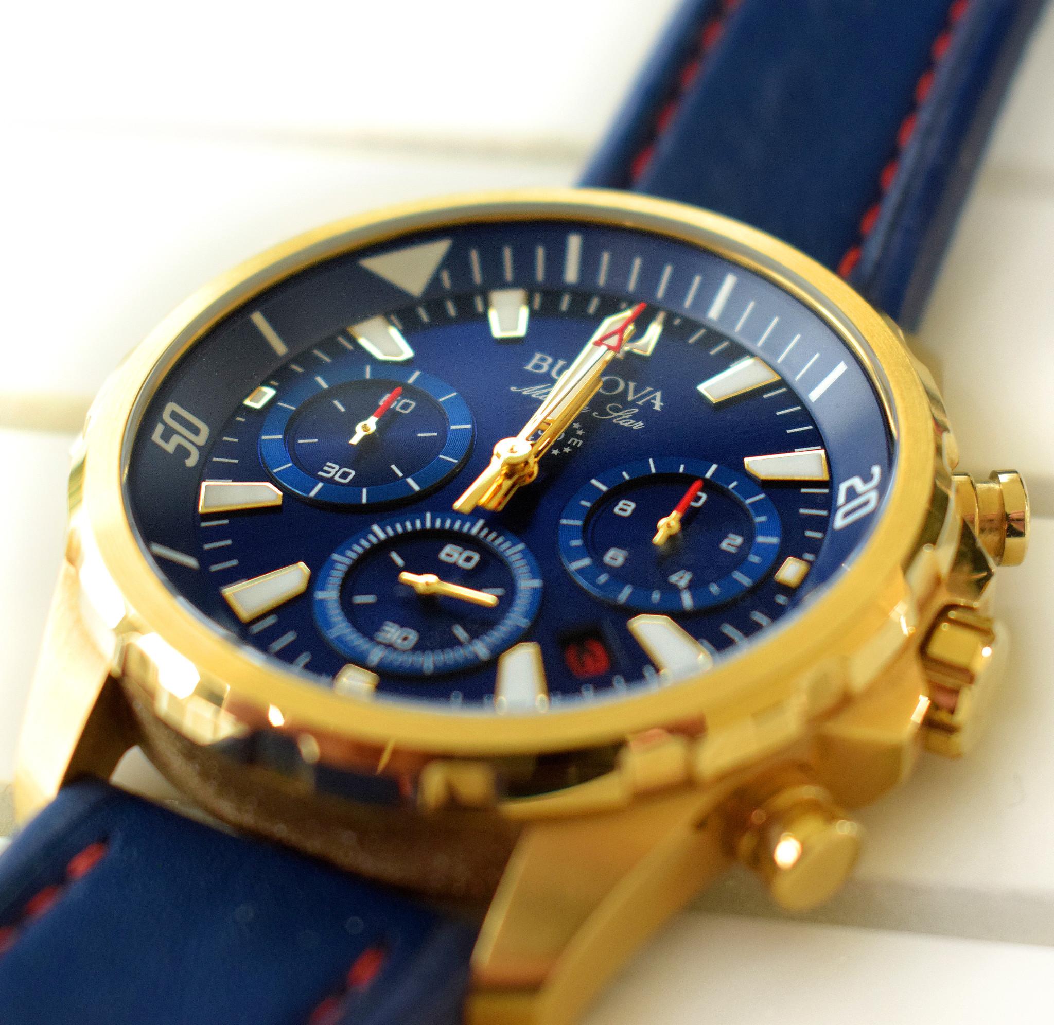 Luxe horloges: Bulova 97B168
