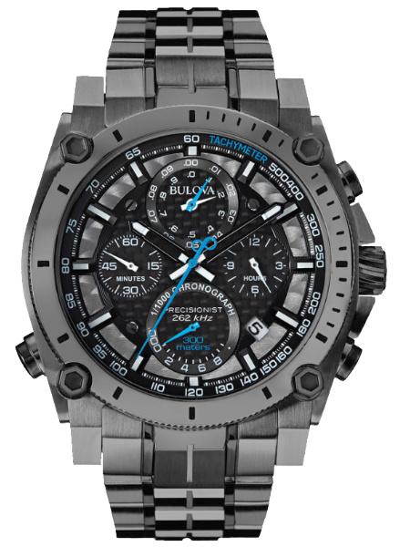 Bulova Precisionist mannen horloge