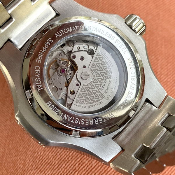 V.O.S.T. Germany V.O.S.T. Germany V100.016 Steel Automatik Herren Uhr 44mm