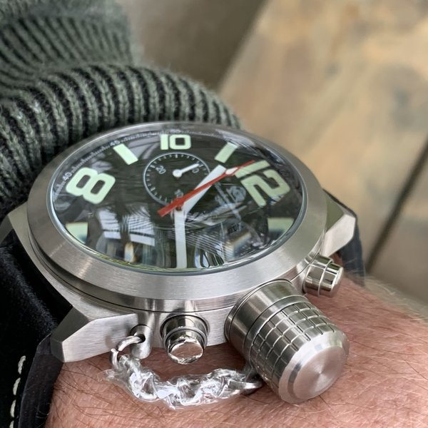 Tauchmeister Tauchmeister German Chronograph watch T0074