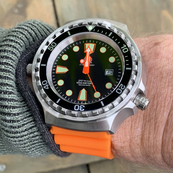 Tauchmeister Tauchmeister T0300OR quartz diver watch 52mm