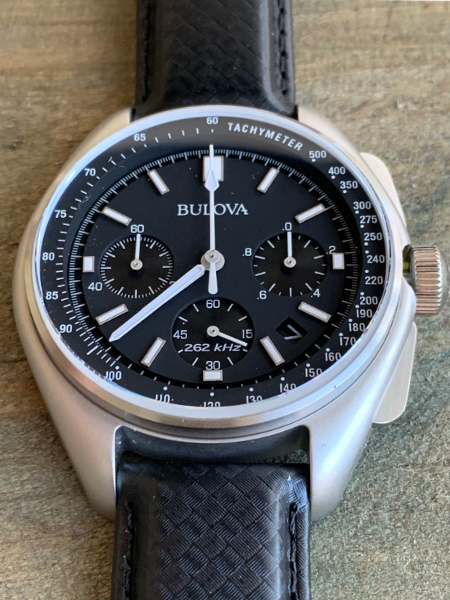 Waterdicht horloge: Bulova met lederen band