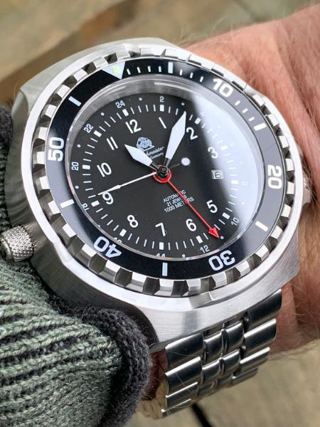 Waterdichte Tauchmeister horloge