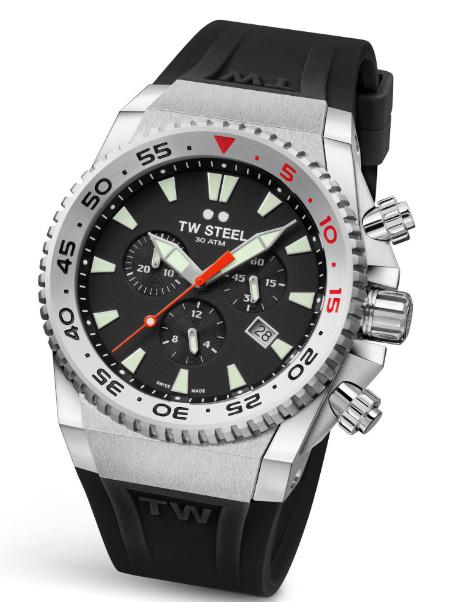 Waterdichte TW Steel ACE400 diver horloge