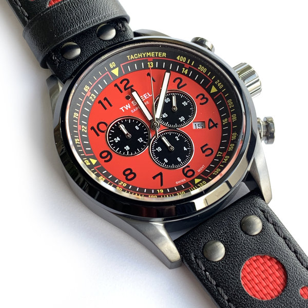 TW Steel TW Steel Swiss Volante SVS304 TCR Limited Edition chronograph watch 48mm