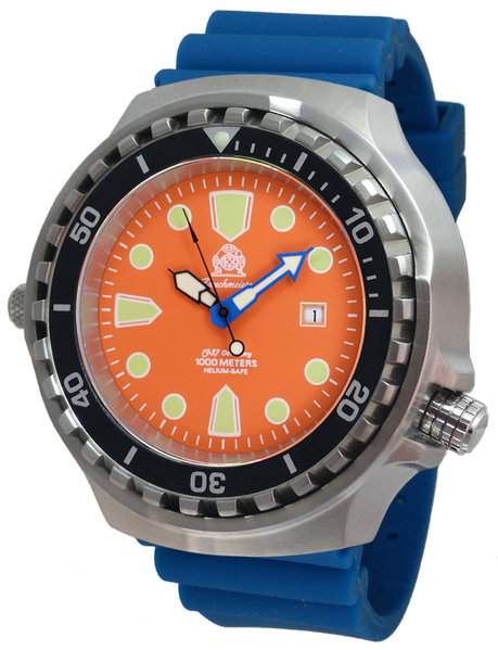 Tauchmeister Tauchmeister T0332BLU  automatic diver watch 52 mm