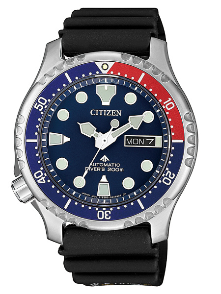 Citizen NY0086-16LE duikhorloge