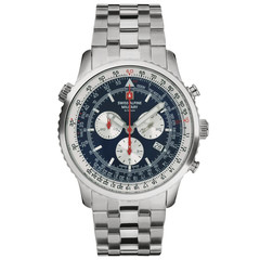 ✅ Weekend deal! Swiss Alpine Military 7078.9135 Chronograph Herren Uhr