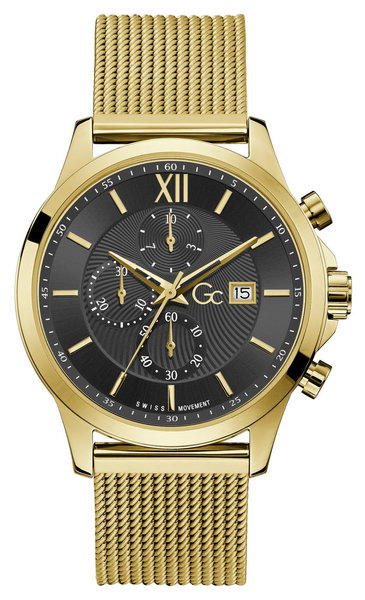 Gc Guess Collection Gc Guess Collection Y27008G2MF Executive mens watch 44 mm