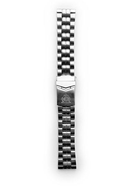 Tauchmeister Tauchmeister 20mm Massives Edelstahlband S20-steel