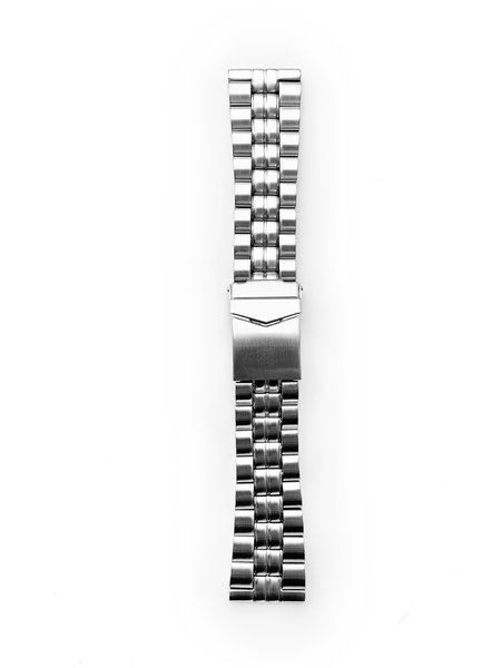 Tauchmeister Tauchmeister 24mm Massives Edelstahlband S24-steel