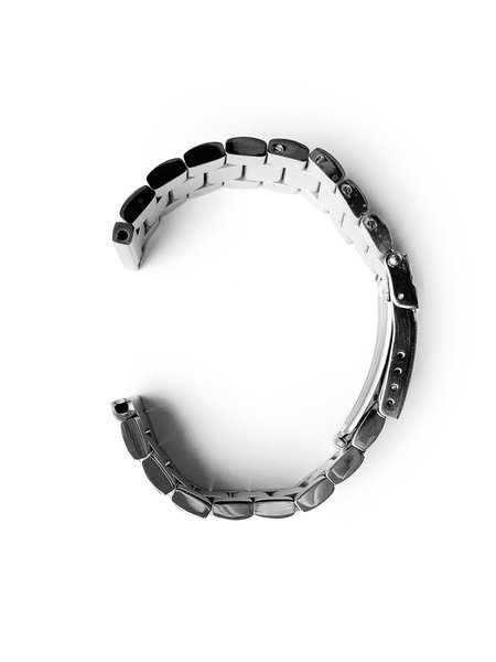 Tauchmeister Tauchmeister 24mm massive stainless steel strap S24-steel