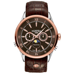 Roamer 508821 47 63 05 Superior Moonphase watch