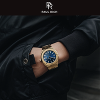 Paul Rich Paul Rich Signature Royal touch Stahl PR68GBS Uhr 45 mm