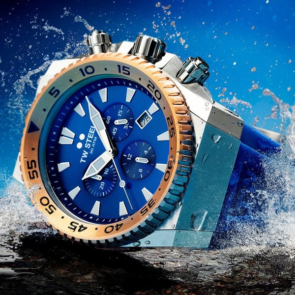TW Steel TW Steel ACE402 Diver Swiss Chronograph Limited Edition Uhr 44mm
