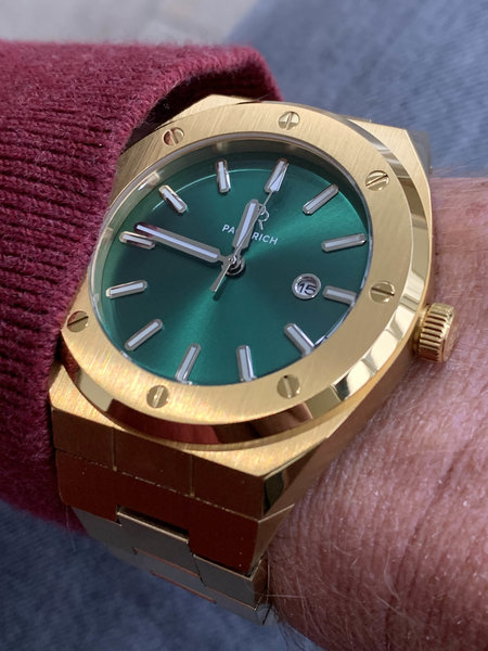 Paul Rich Paul Rich Signature King's jade Steel PR68GGS watch 45 mm
