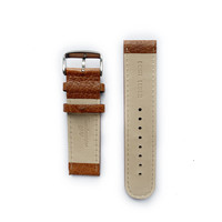 Tauchmeister Tauchmeister 24mm brown leather strap S24-brown