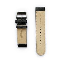 Tauchmeister Tauchmeister 24mm black leather S24-black