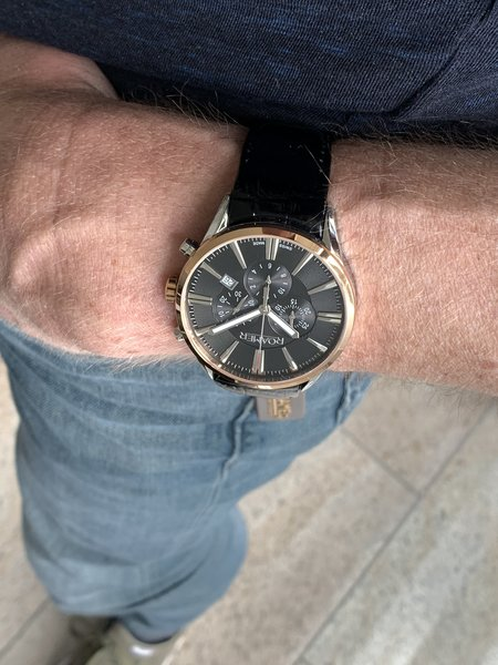 Roamer Roamer 508837 41 75 05 Superior Chrono Uhr 44 mm