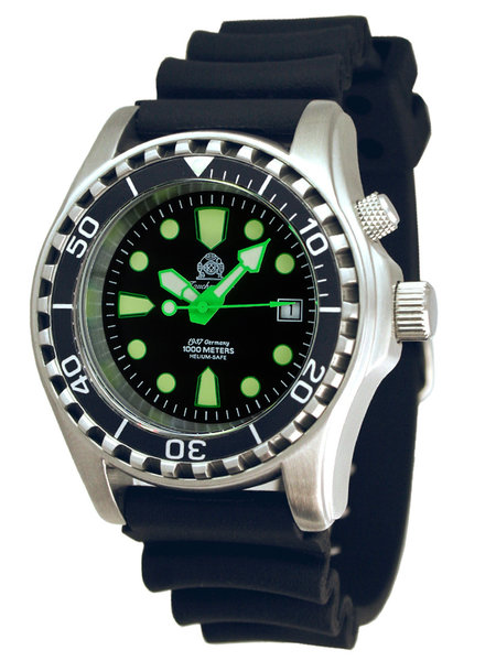 Tauchmeister Tauchmeister T0329 automatic diver watch 100ATM 44 mm