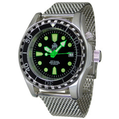 Tauchmeister T0329MIL automatic diver watch 100ATM