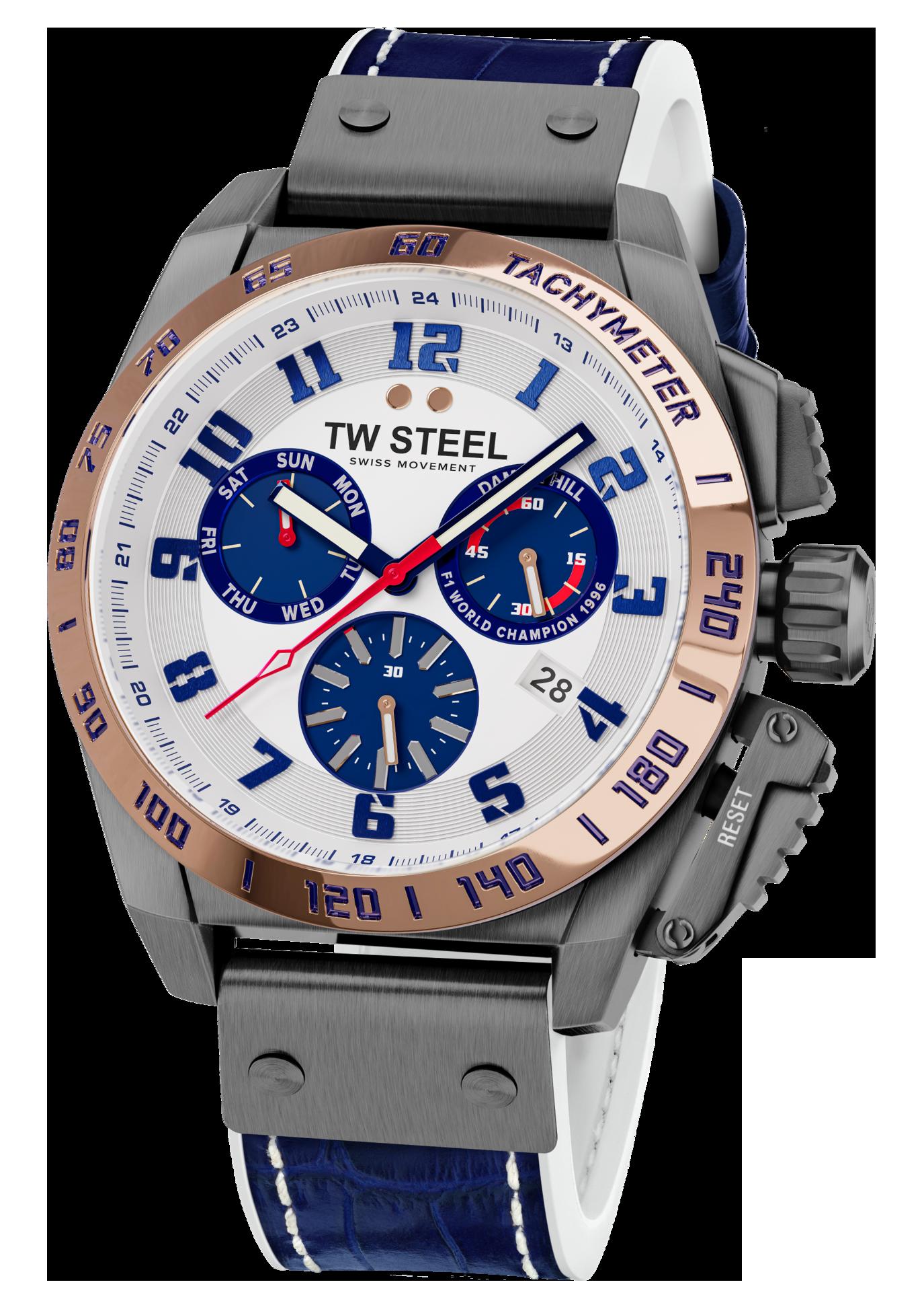 TW Steel Damon Hill Limited Edition horloge