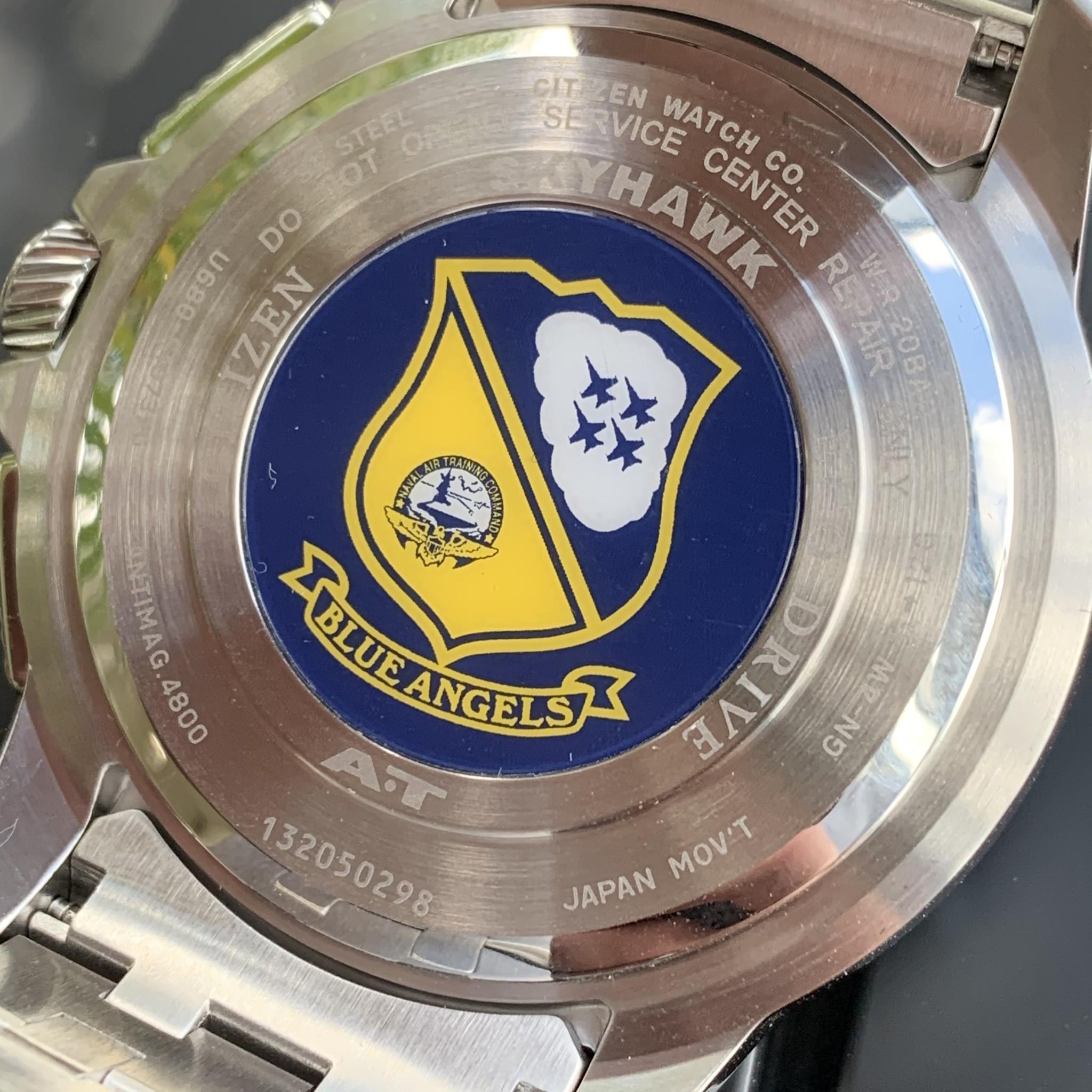 Citizen JY8058-50L horloge Blue Angels