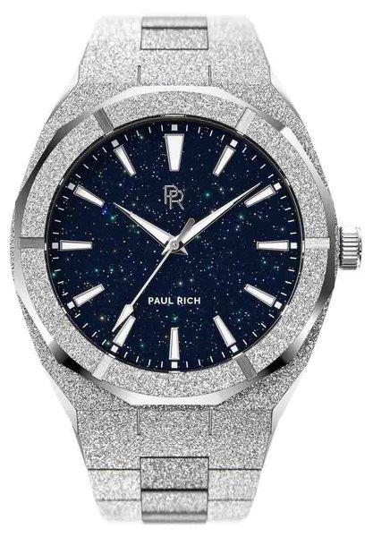 Paul Rich Paul Rich Frosted Star Dust Silver FSD05 Uhr 45 mm