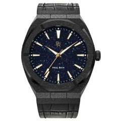 Paul Rich Frosted Star Dust Black FSD01-L Leather Uhr 45 mm