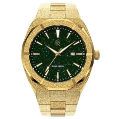 Paul Rich Frosted Star Dust Green Gold FSD03-A Automatic Uhr 45 mm