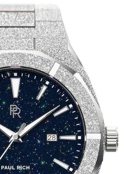 Paul Rich Paul Rich Frosted Star Dust Silver FSD05-A42 Automatic Uhr 42mm