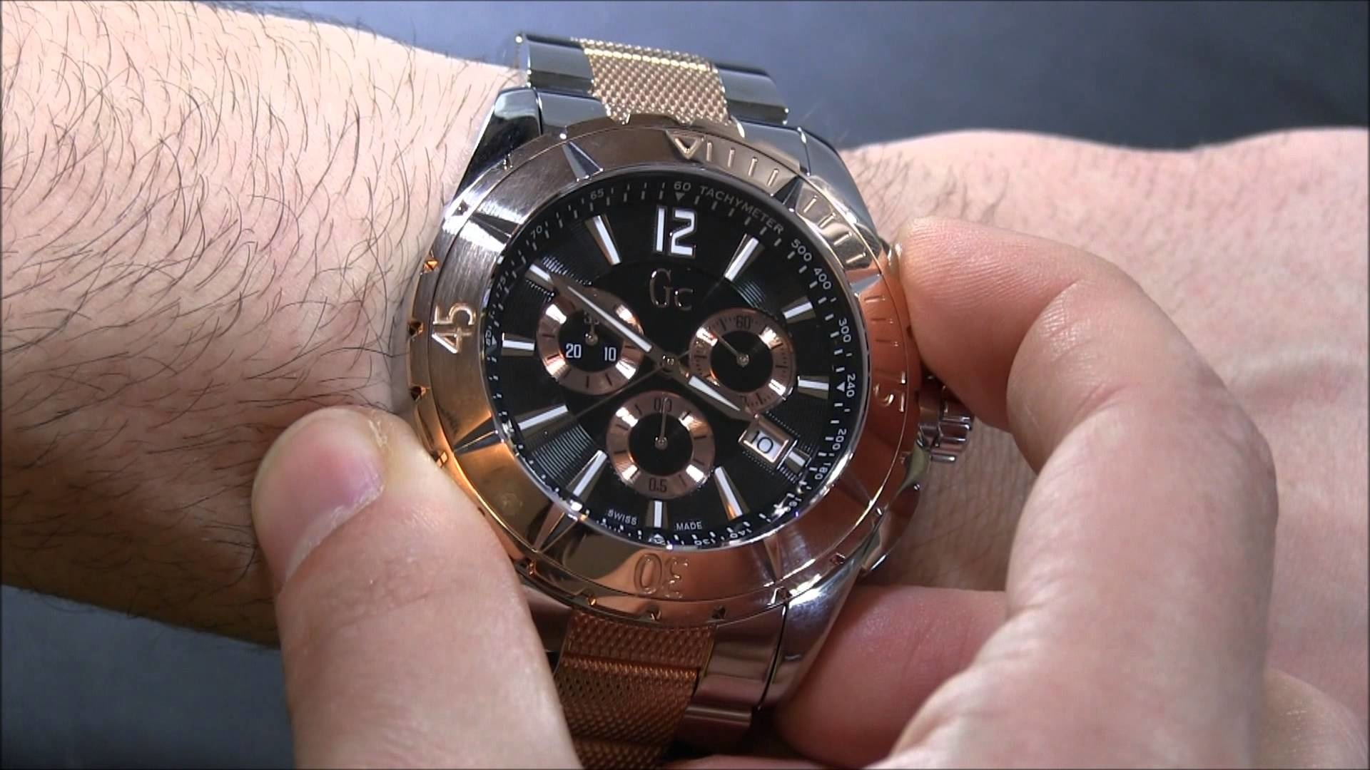 Gc horloge Guess Collection Gc watch Gc watches