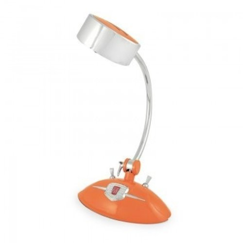 Fiat 500 bureaulamp met ledverlichting oranje