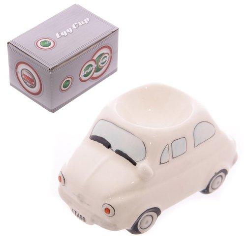 Fiat 500 wit eierdopje